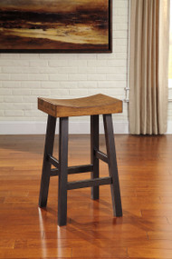 Glosco Two-tone Tall Stool