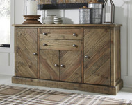 Grindleburg Light Brown Dining Room Server