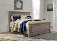 Lettner Light Gray Queen Panel Bed