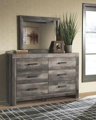 Wynnlow Gray Dresser & Mirror
