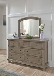 Lettner Light Gray Dresser