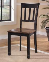 Owingsville Black/Brown Dining Room Side Chair