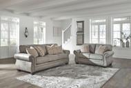 Olsberg Steel Sofa & Loveseat
