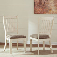 Bolanburg Antique White Dining Upholstered Side Chair