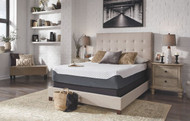 12 Inch Chime Elite White/Blue Full Mattress