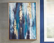 Dinorah Teal Blue Wall Art