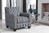 Creeal Heights Ink Accent Chair