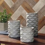 Charlot Gray Vase