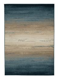 Ignacio Blue/Tan Medium Rug