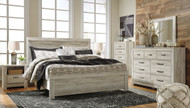 Bellaby Whitewash 6 Pc. King Panel Bed Collection