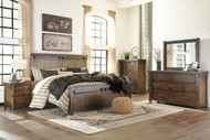 Lakeleigh Brown 5 Pc.Queen Panel Bedroom Collection