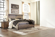 Lakeleigh Brown 4 Pc. King Panel Bedroom Collection