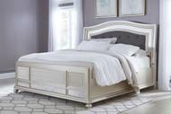 Coralayne California King Upholstered Panel Bed