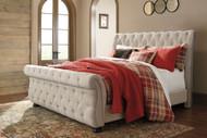Willenburg Linen Queen Upholstered Bed