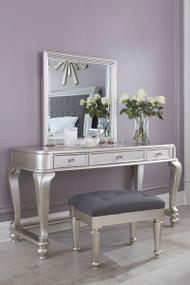 Coralayne Vanity, Mirror and Stool