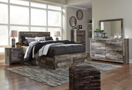 Derekson Multi Gray 7 Pc. Queen Bedroom Collection