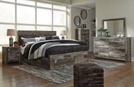 Derekson Multi Gray 7 Pc. King Bedroom Collection