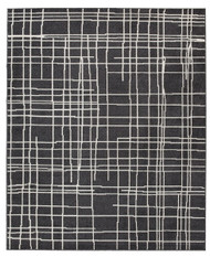 Jai Black/White Medium Rug