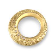 Washi Orbit Pin/Pendant by K. Mita, Fine Art Jewelry