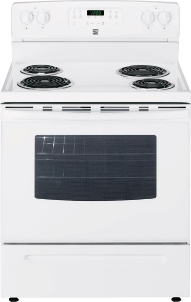 Kenmore White Coil Electric Range Masters Buy Or Lease