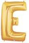 "40"" Megaloon Letter E Gold Balloon"