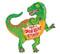 """43"""" HBD Dinosaur"""