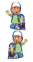 "14"" Mini-Shape Handy Manny & Tools"