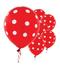 "11"" Red Polka Dots Latex Balloon"