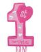 "Girl's 1st Birthday 22"" 1st Birthday - Pink Pinata"