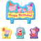 Peppa Pig Birthday Candles