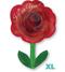 "18"" I Love You Rose with Stem - Valentine S50"