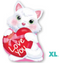"18"" Kitty With Heart Junior Shape S50"