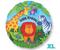 "18"" Jungle Animals Happy Birthday S40 (119998-01)"