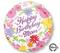 """18"""" Pastel Flower Mom Birthday S40 (26719-01)"""