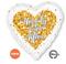 Confetti Wedding Heart S40 35189-01