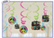 679906 Neon Birthday Value Pack Foul Swirl Decorations