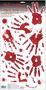 670013 Asylum/Chop Shop Skeleton Hand Print Wall Grabbers