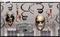 670358 Asylum/Chop Shop Value Pack Foil Swirls Decorations