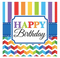 501465 Bright Birthday Beverage Napkins