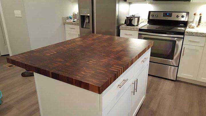 Best Wood For Butcher Block Counters: Wood Kitchen Countertop