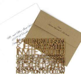 FreeCut™ Thin - Wedding Invitation