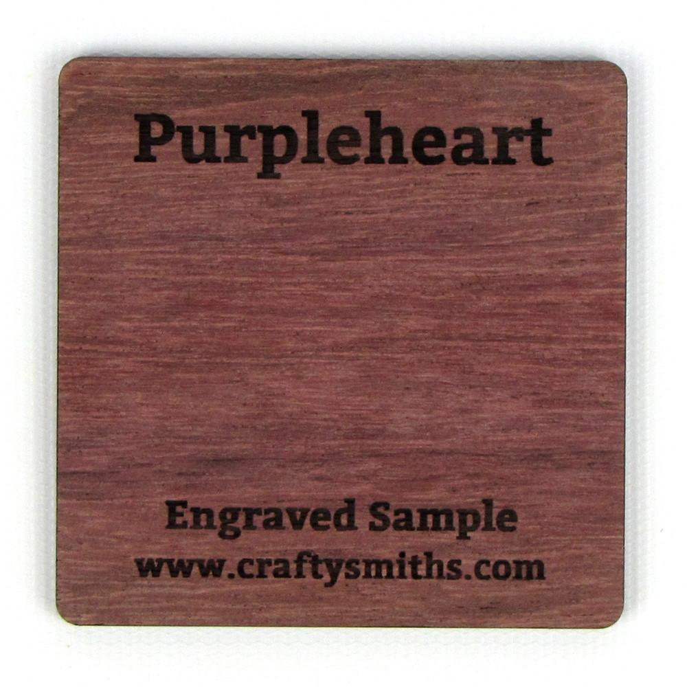 Purpleheart - Exotic Hardwood