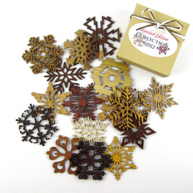 2012 Special Edition Exotic Wood Snowflakes