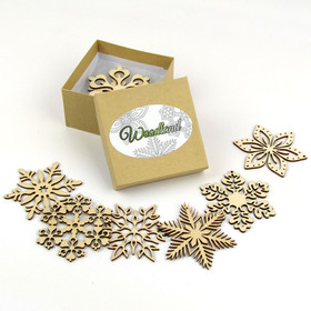 """Woodland Collection"" Themed Snowflakes"