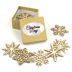 """Christmas Day Collection"" Themed Snowflakes"