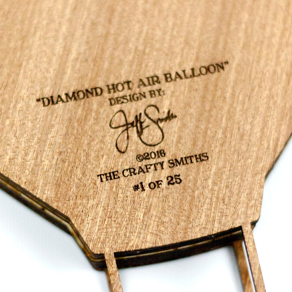 Diamond Hot Air Balloon\