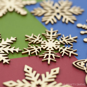 """Christmas Day Collection"" Snowflakes Only"