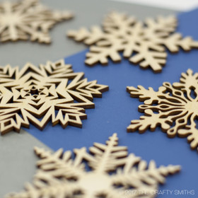 """Glacial Collection"" Snowflakes Only"