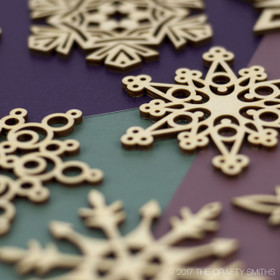 """Whimsical Collection"" Snowflakes Only"