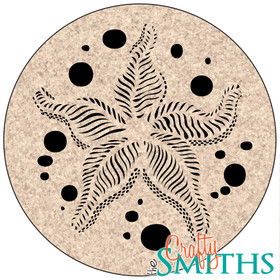 """Starfish"" Cork Coasters or Trivet"